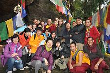 Rinpoche & pilgrims