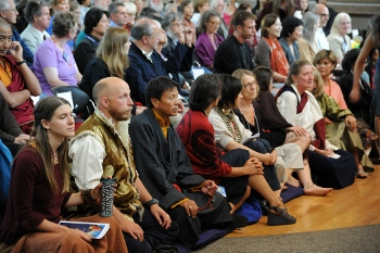Audience at Lotus Speech event